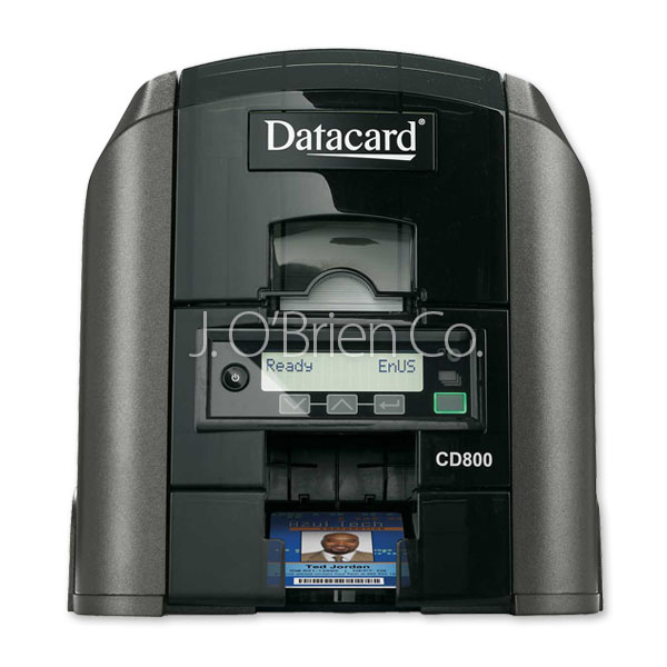 Datacard 506346-012 CD800 Single Sided, Mag Encoder, OpenCard Format ID Card Printer