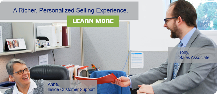 A Richer, Personalized Selling Experience